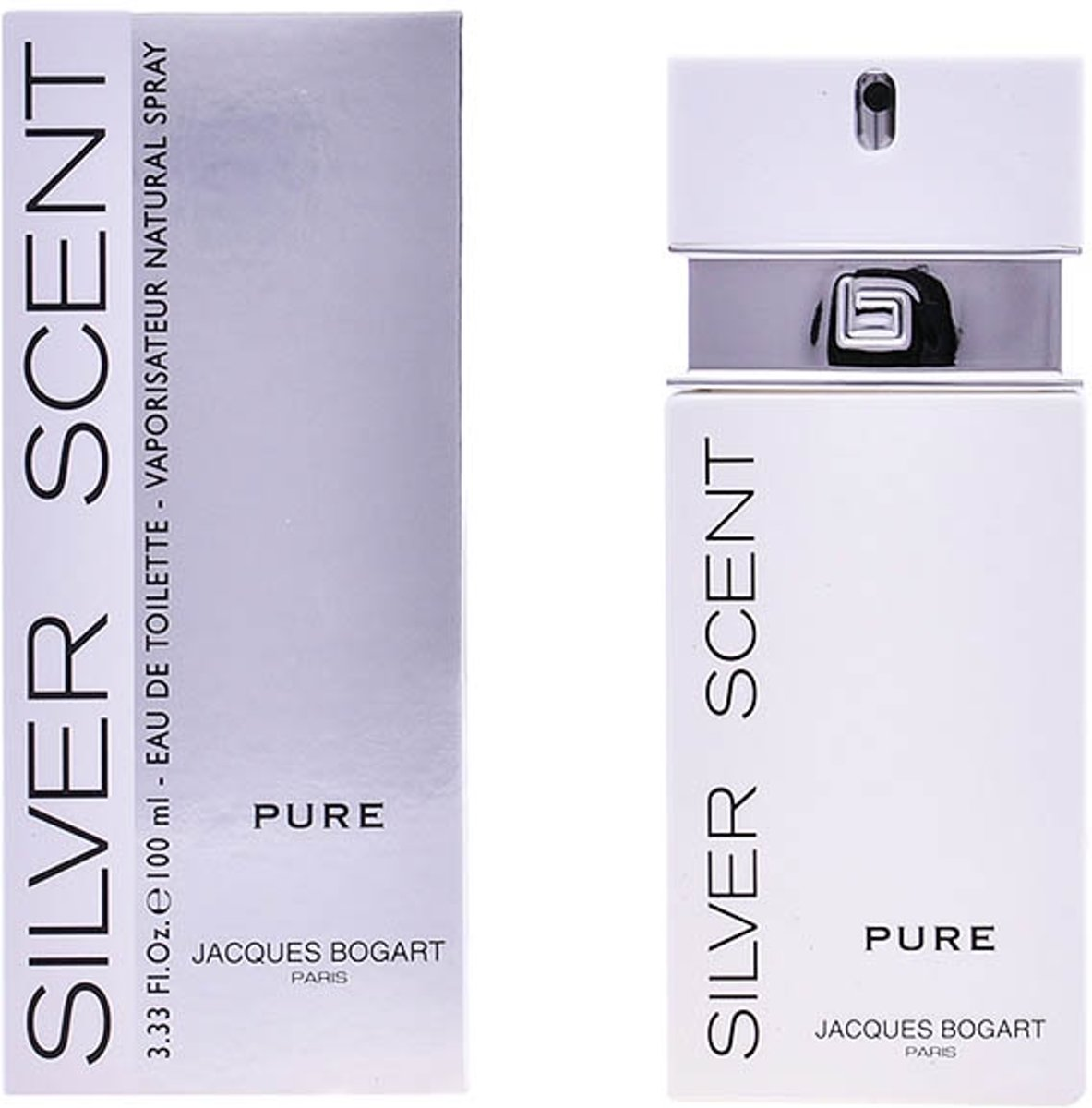 Herenparfum Silver Scent Pure Jacques Bogart EDT