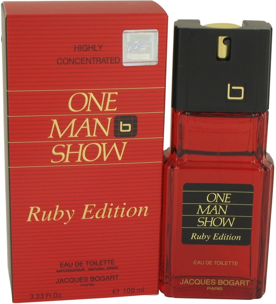 Jacques Bogart One Man Show Ruby eau de toilette spray 100 ml
