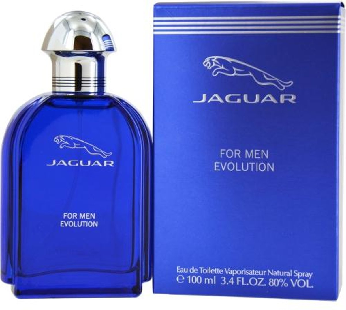 Jaguar Eau De Toilette Evolution 100 ml - Voor Mannen