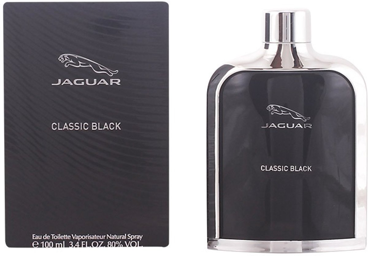 MULTI BUNDEL 2 stuks JAGUAR BLACK eau de toilette spray 100 ml