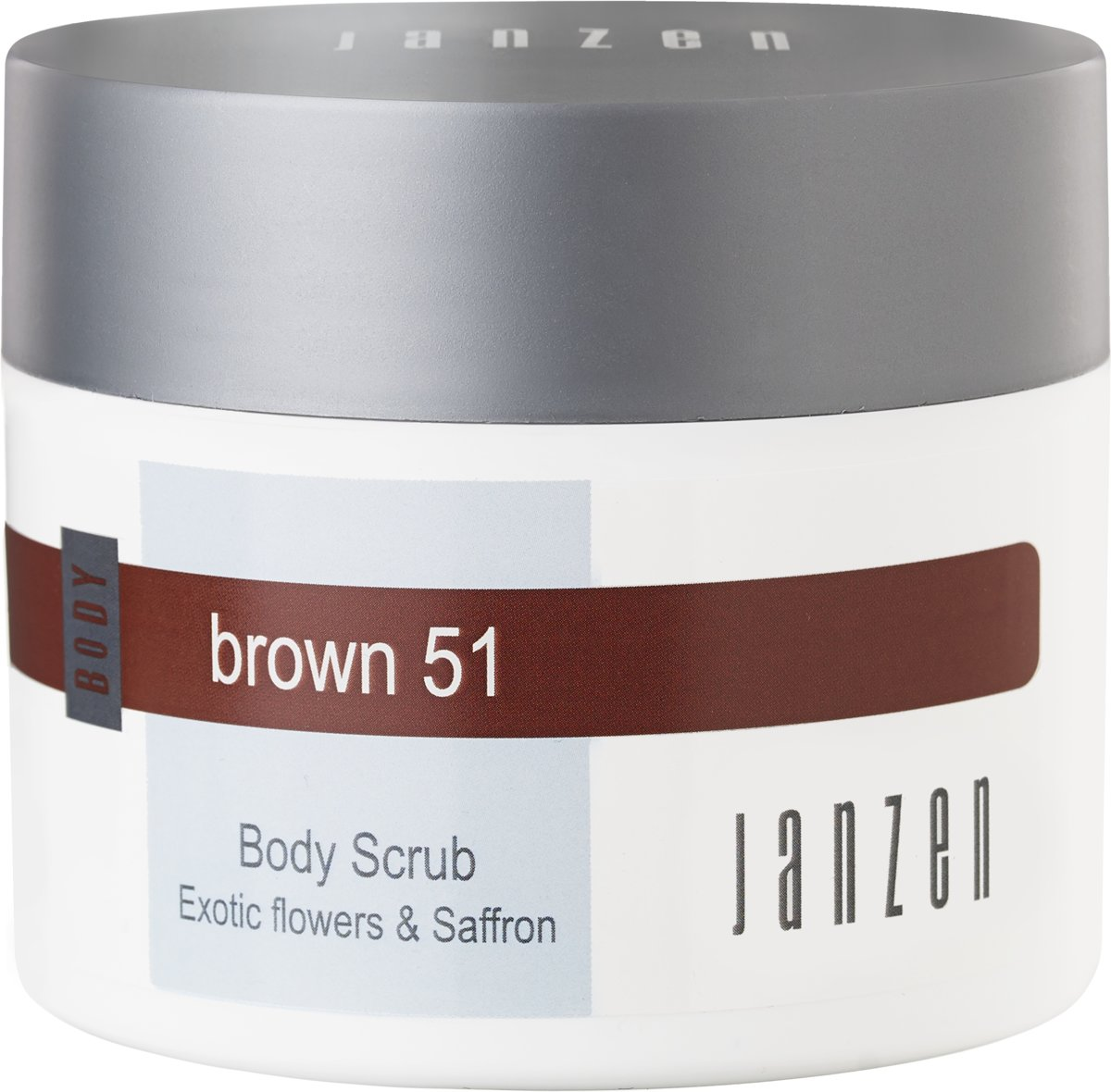 JANZEN Body Scrub Brown 51 - 200 ml