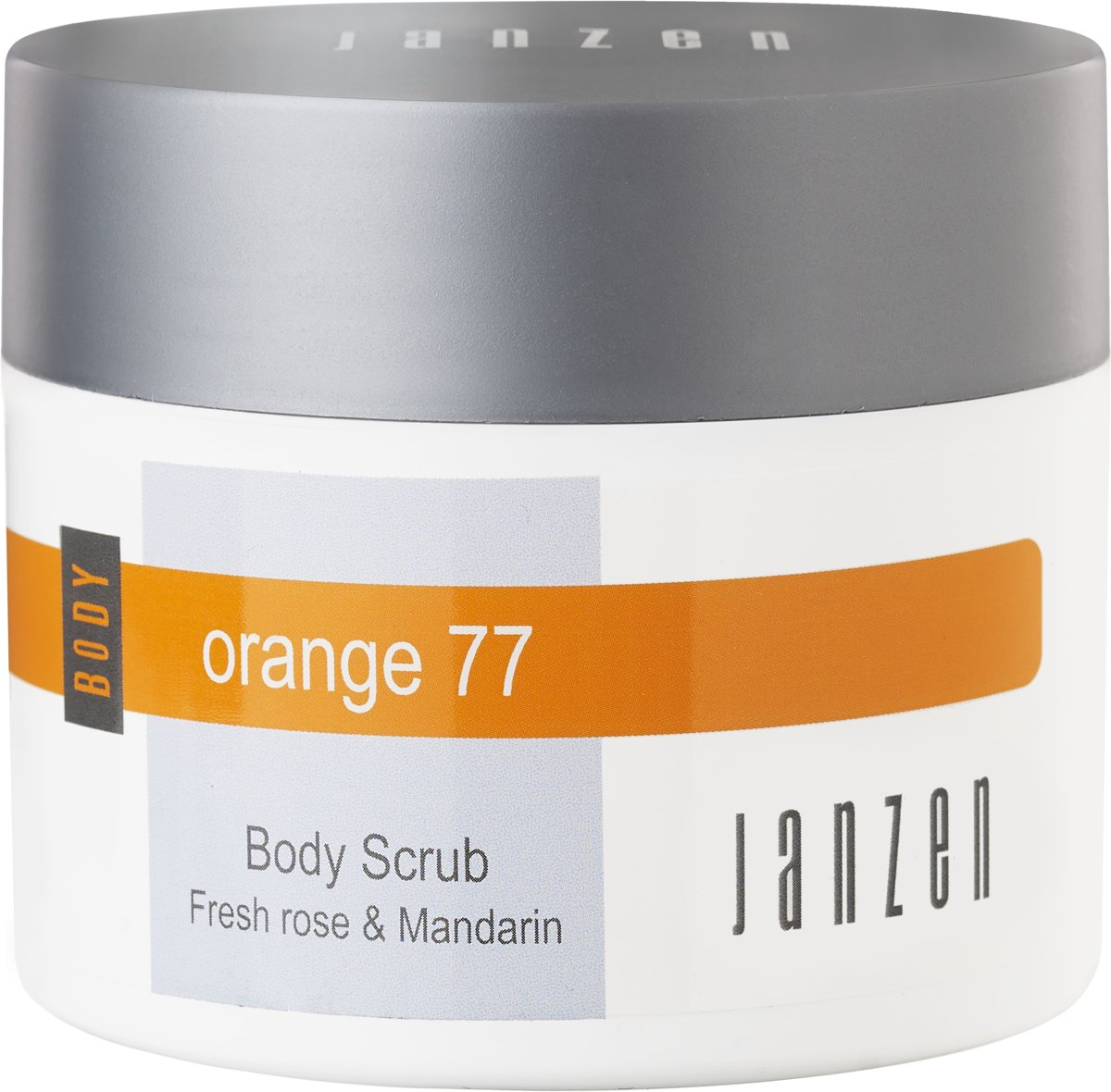 JANZEN Body Scrub Orange 77 - 200 ml