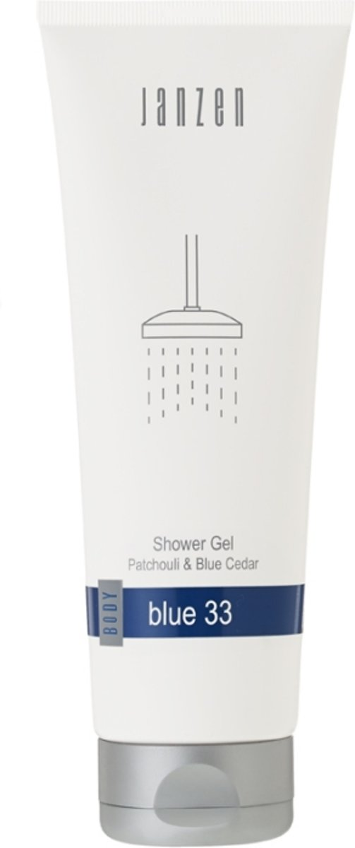 JANZEN Shower Gel Blue 33 - 250 ml - Douchegel