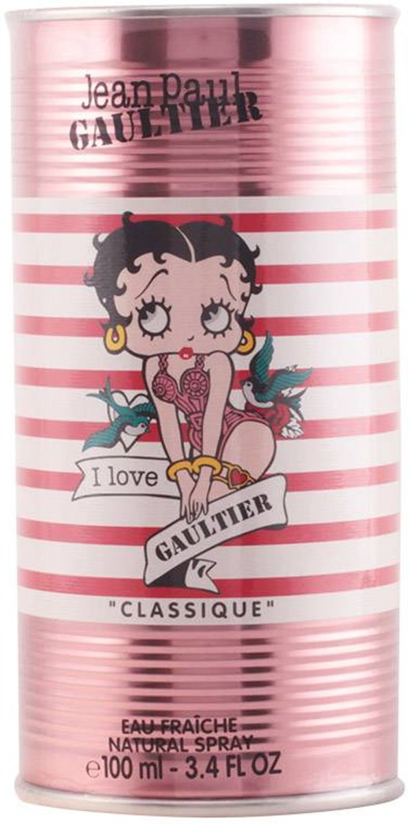J.P. Gaultier Classique Betty Boop E. F. Edt Spray 100 ml
