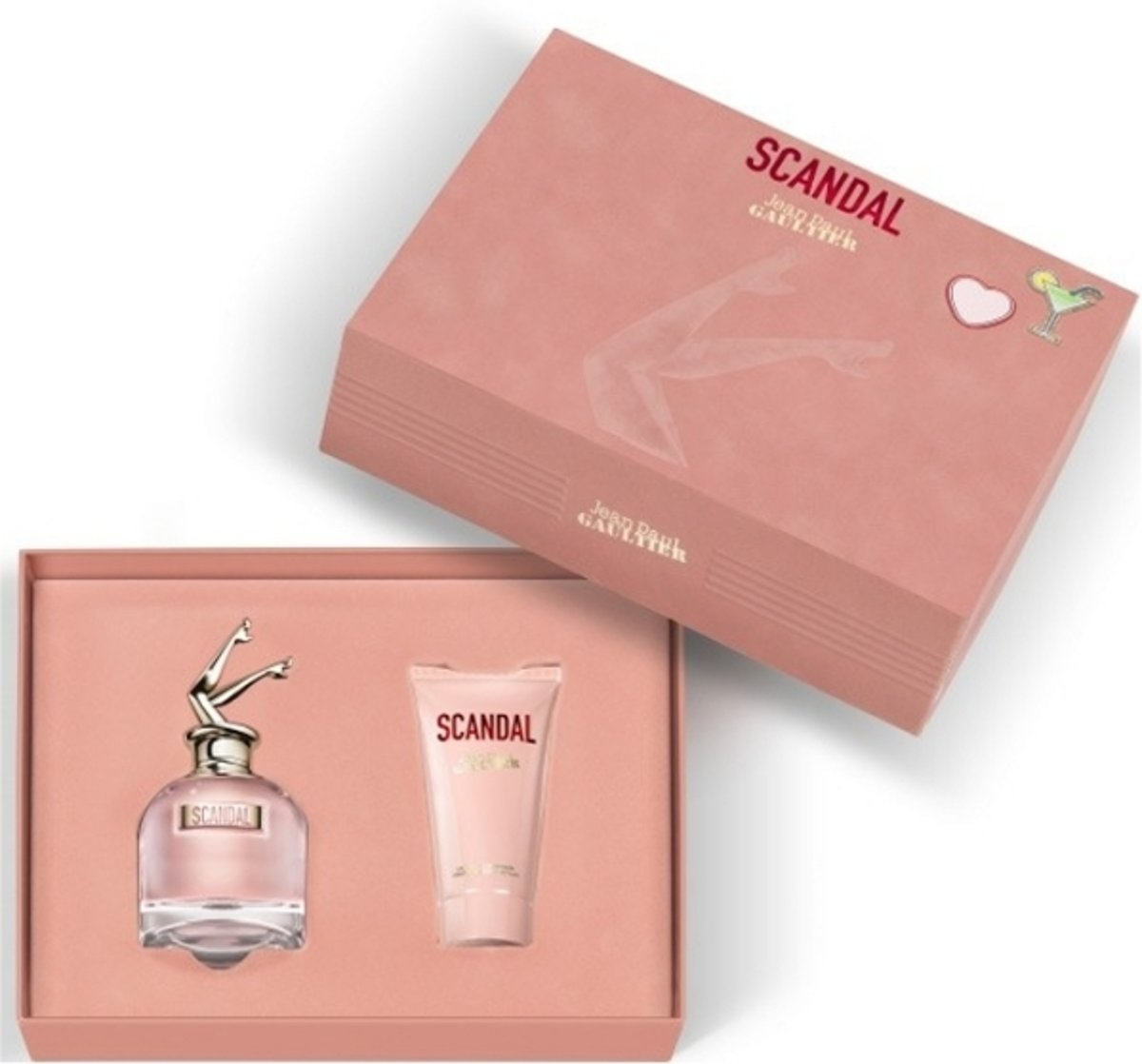 Jean Paul Gaultier - Eau de parfum - Scandal 50ml eau de parfum + 75ml bodylotion - Gifts ml