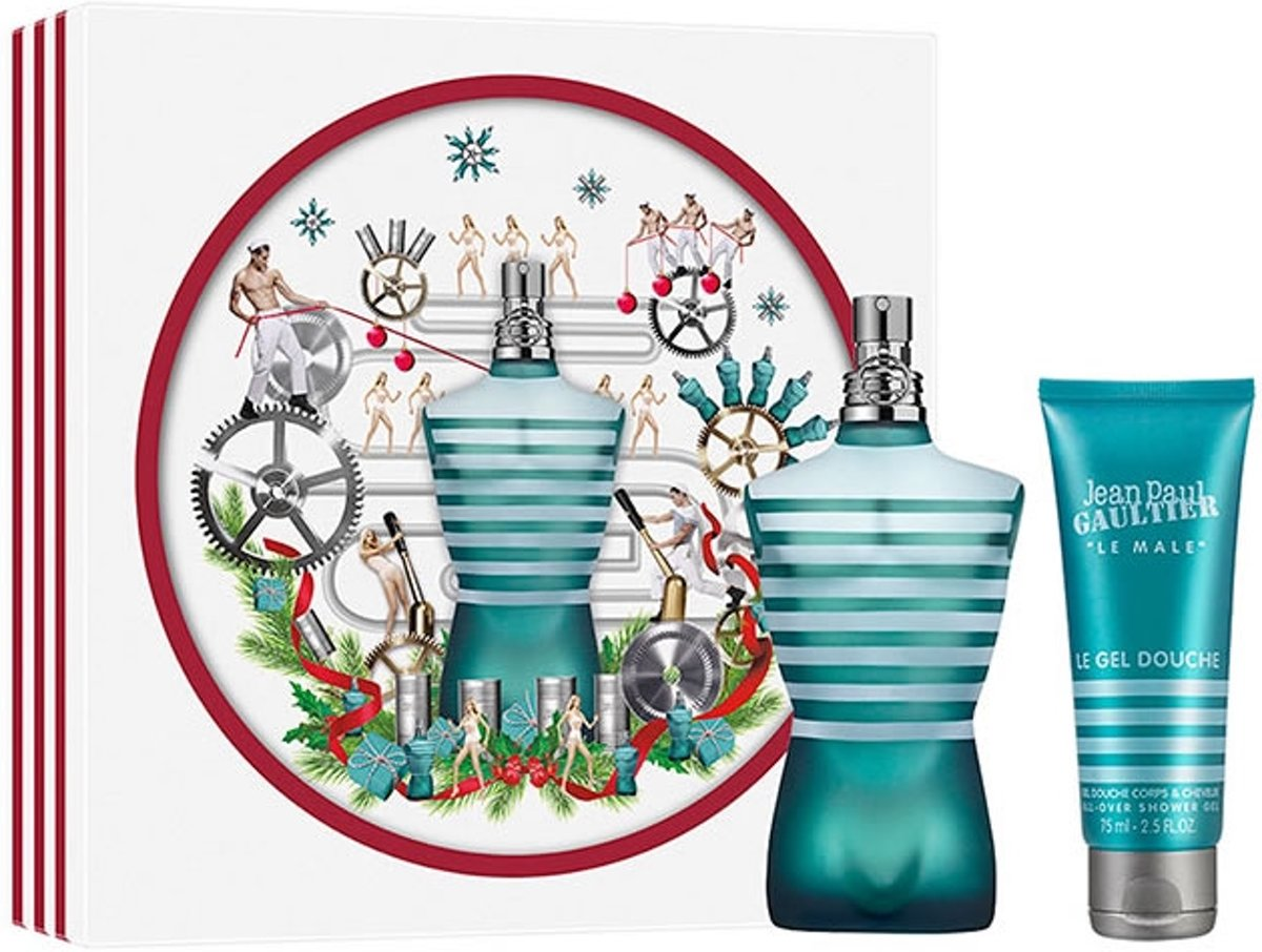 Jean Paul Gaultier - Eau de toilette - Le male 125ml eau de toilette + 75ml showergel - Gifts ml