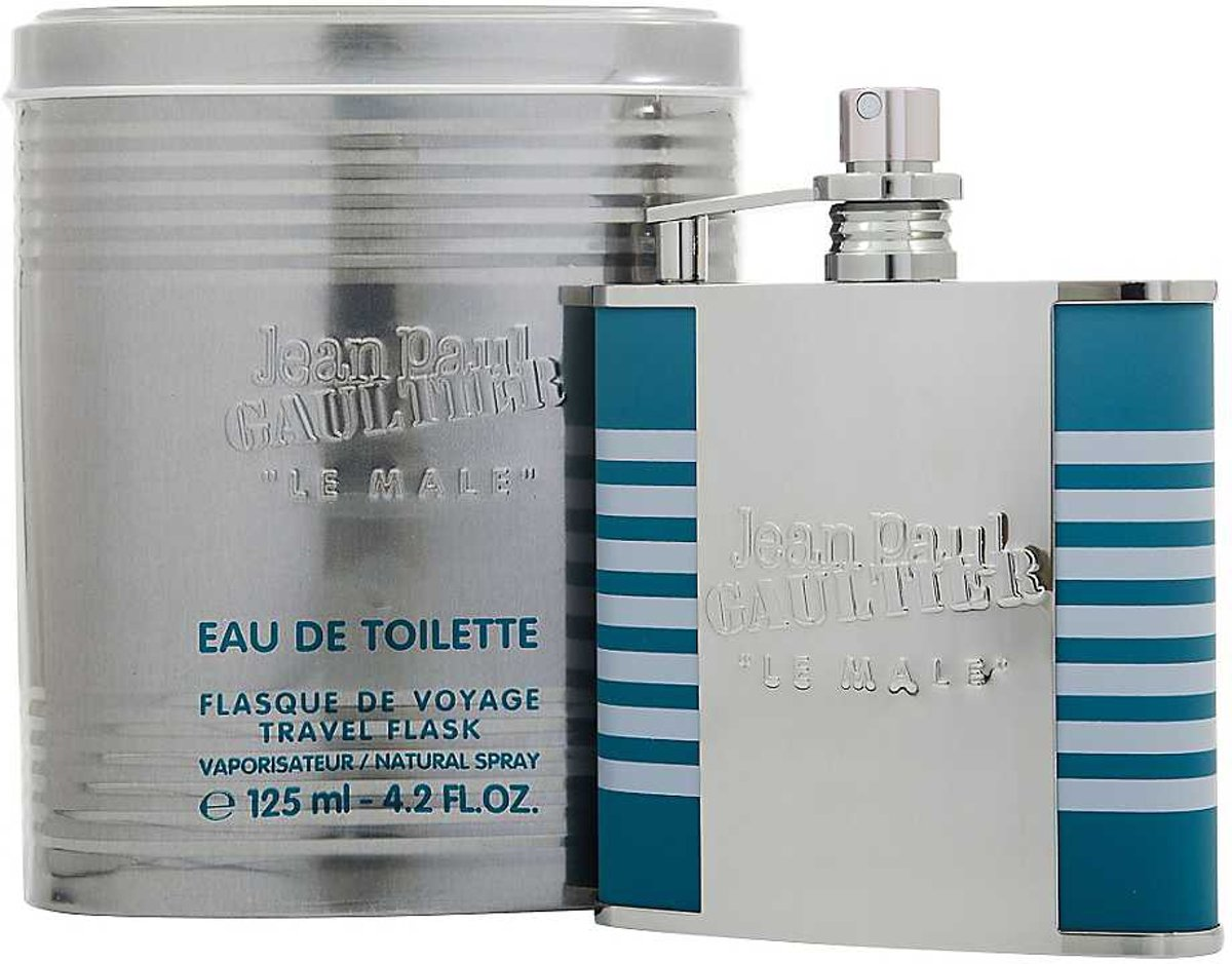 Jean Paul Gaultier Le Male 125ml edt travel flask