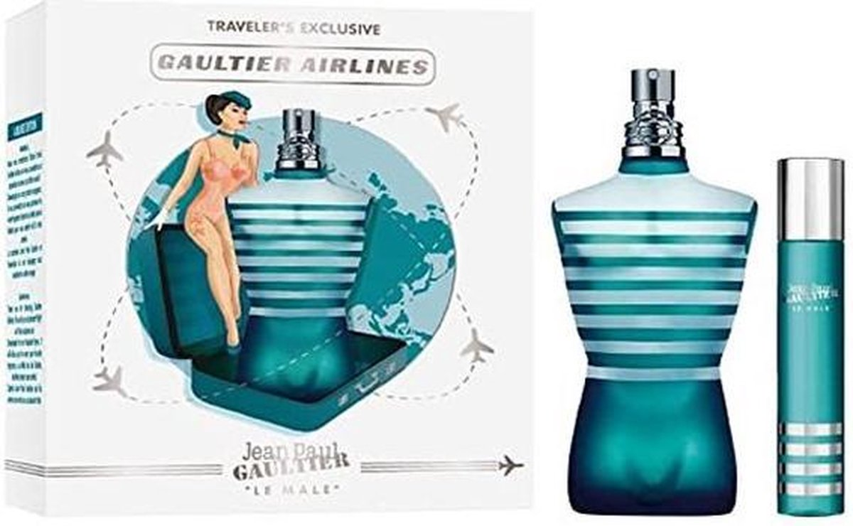 Jean Paul Gaultier Le Male Eau De Toilette 125ml + Mini 20ml
