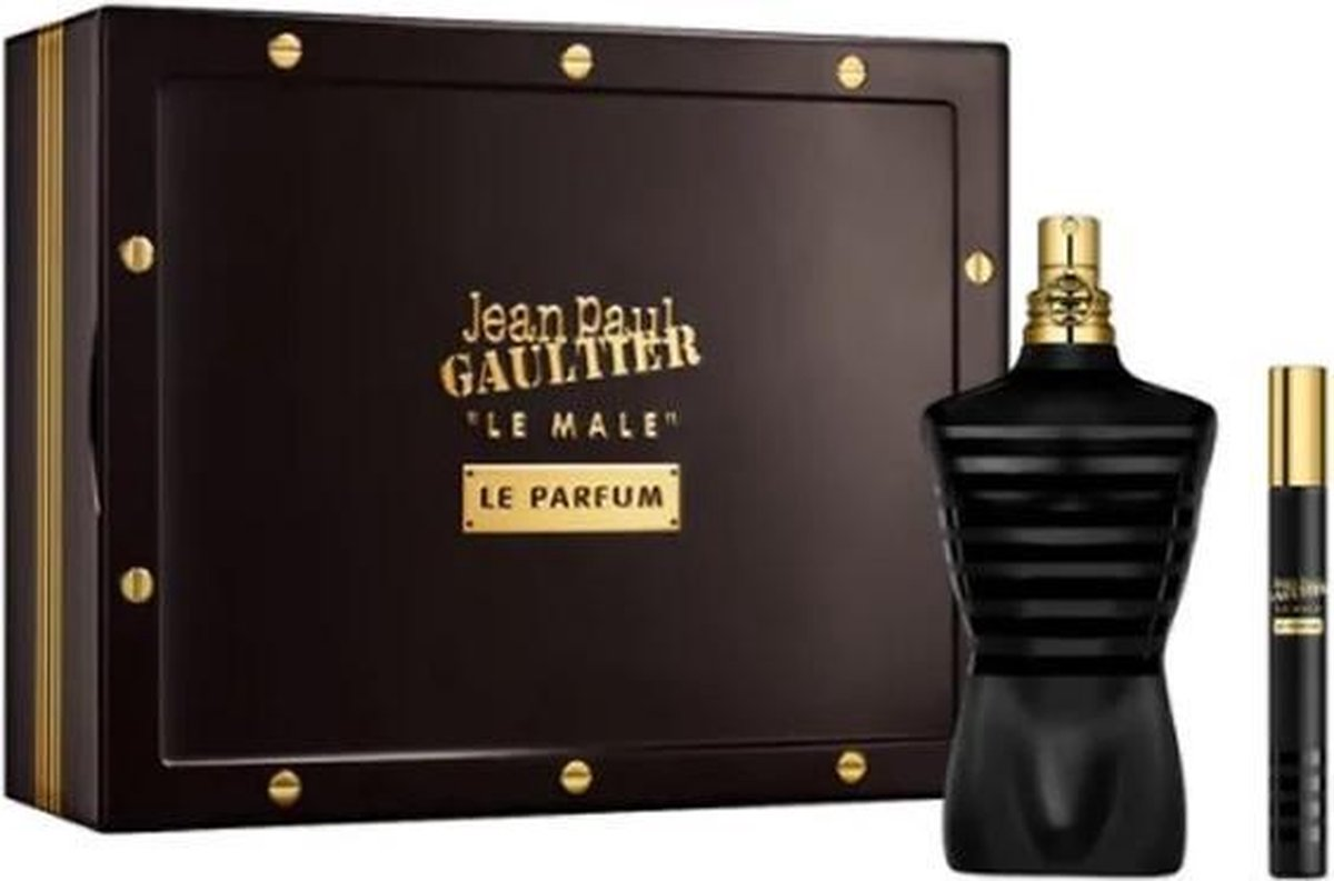 Jean Paul Gaultier Le Male Le Parfum Eau De Parfum Spray 125ml Set 2 Pieces 2020