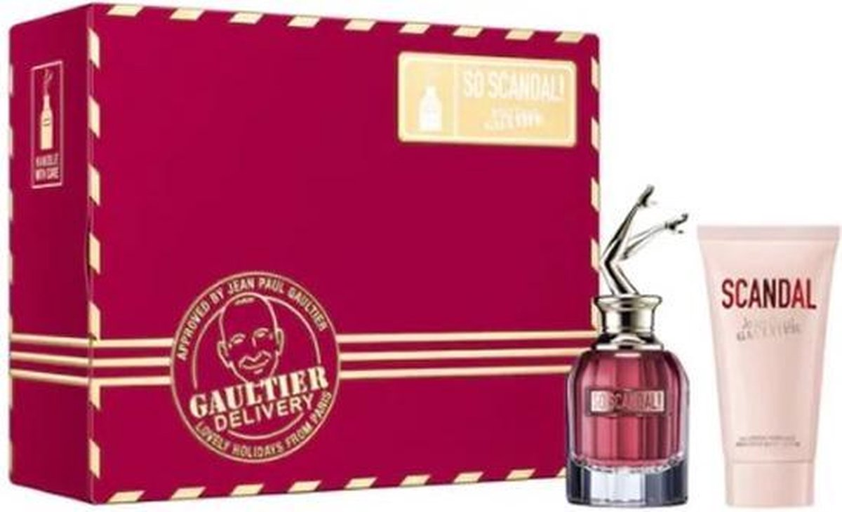 Jean Paul Gaultier So Scandal Eau De Parfum Spray 50ml Set 2 Pieces 2020