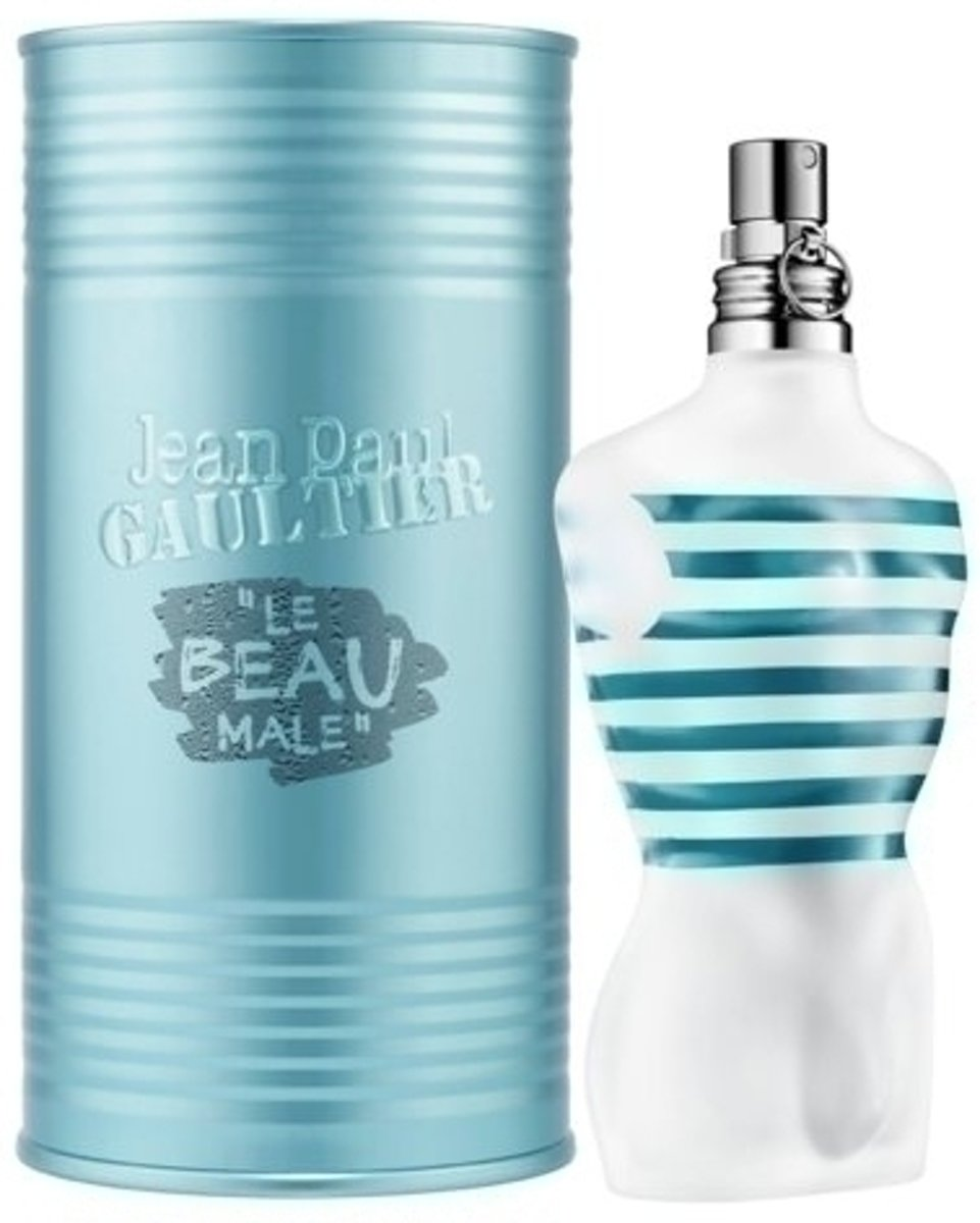 MULTI BUNDEL 2 stuks Jean Paul Gaultier Le Beau Male Eau De Toilette Spray 75ml