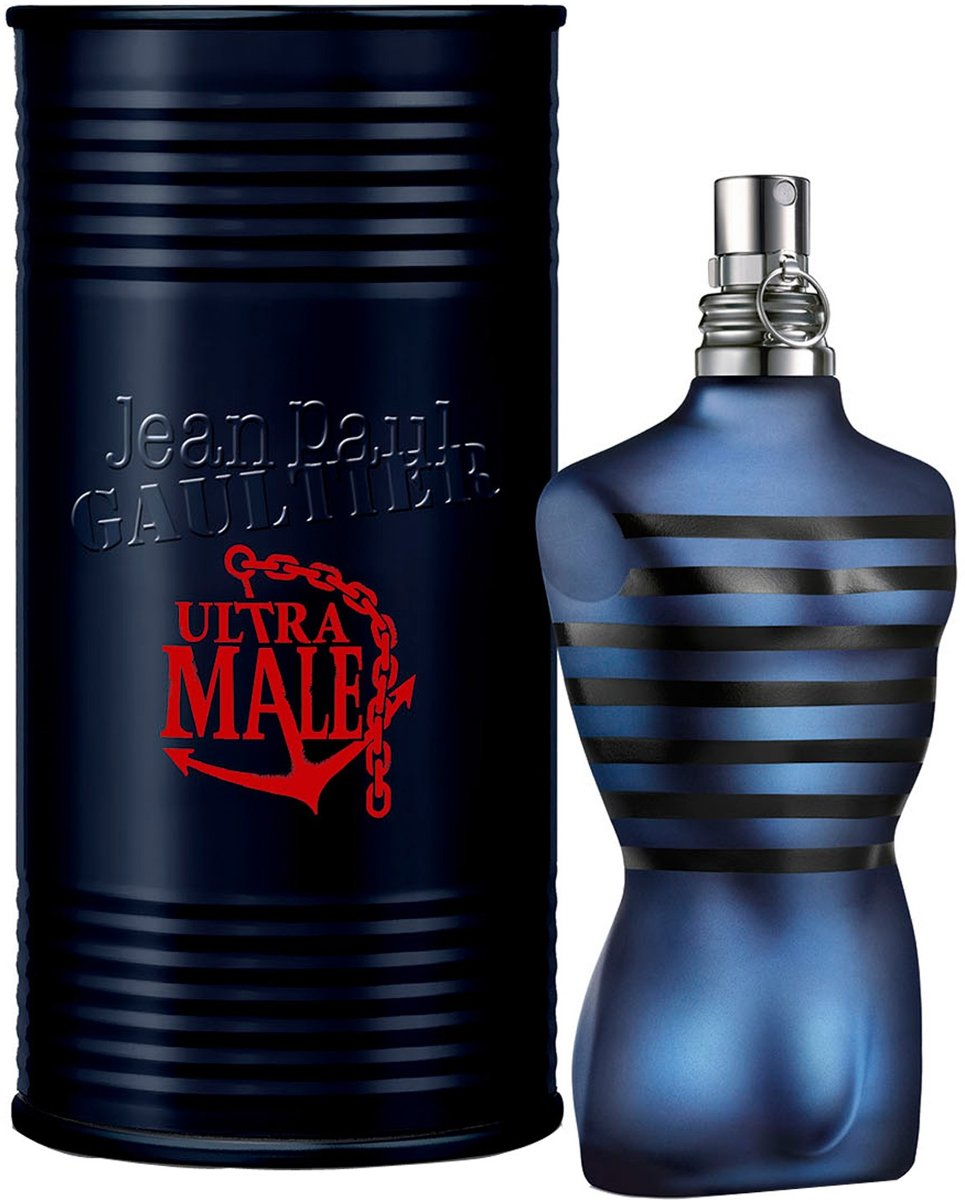 MULTI BUNDEL 2 stuks Jean Paul Gaultier Ultra Male Eau De Toilette Spray 40ml