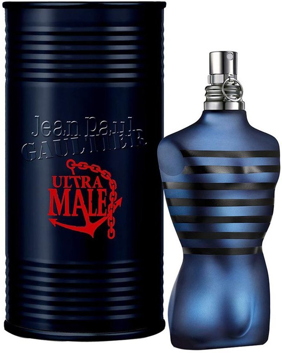 MULTI BUNDEL 2 stuks Jean Paul Gaultier Ultra Male Eau De Toilette Spray 75ml