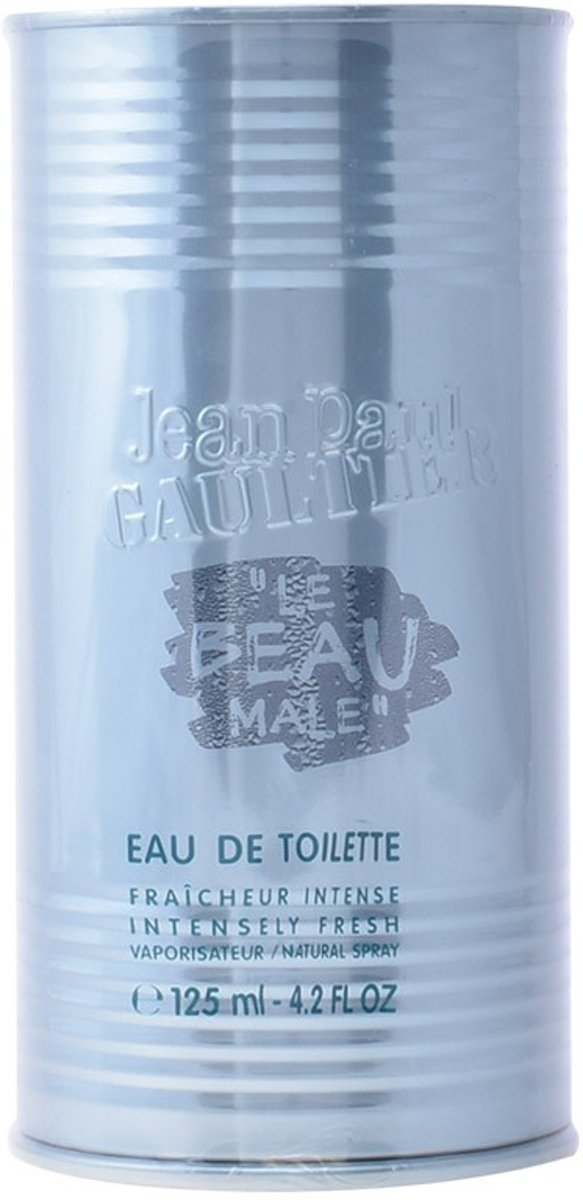 MULTI BUNDEL 2 stuks LE BEAU MALE Eau de Toilette Spray 125 ml