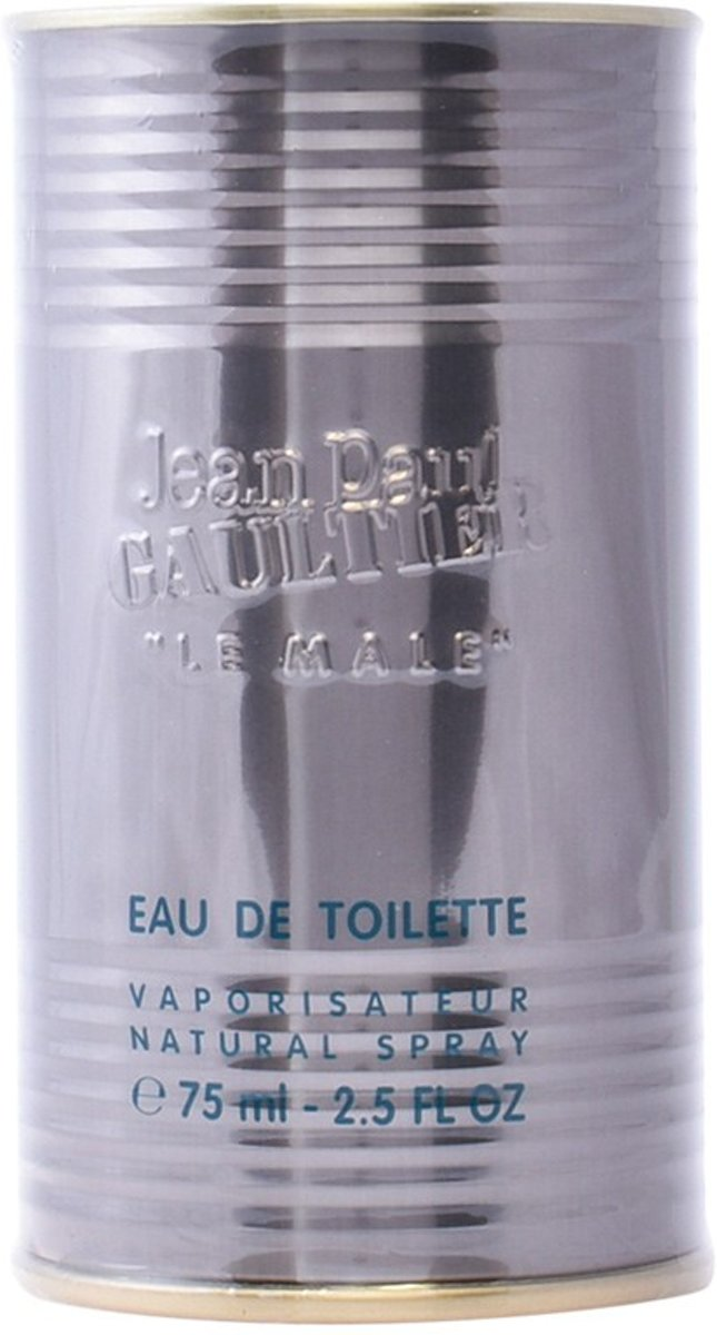 MULTI BUNDEL 2 stuks LE MALE Eau de Toilette Spray 75 ml