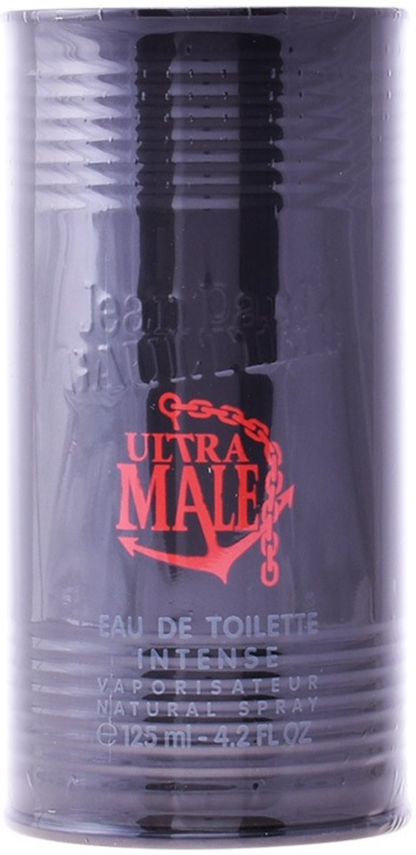 MULTI BUNDEL 2 stuks ULTRA MALE Eau de Toilette intense Spray 125 ml