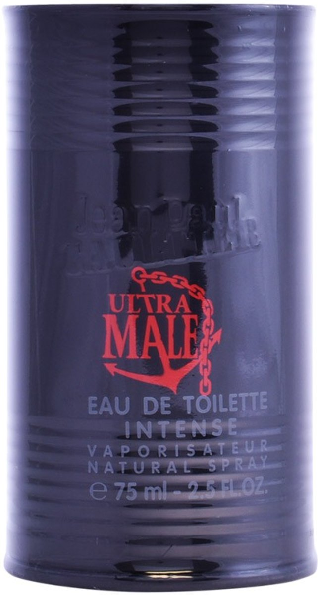 MULTI BUNDEL 2 stuks ULTRA MALE Eau de Toilette intense Spray 75 ml