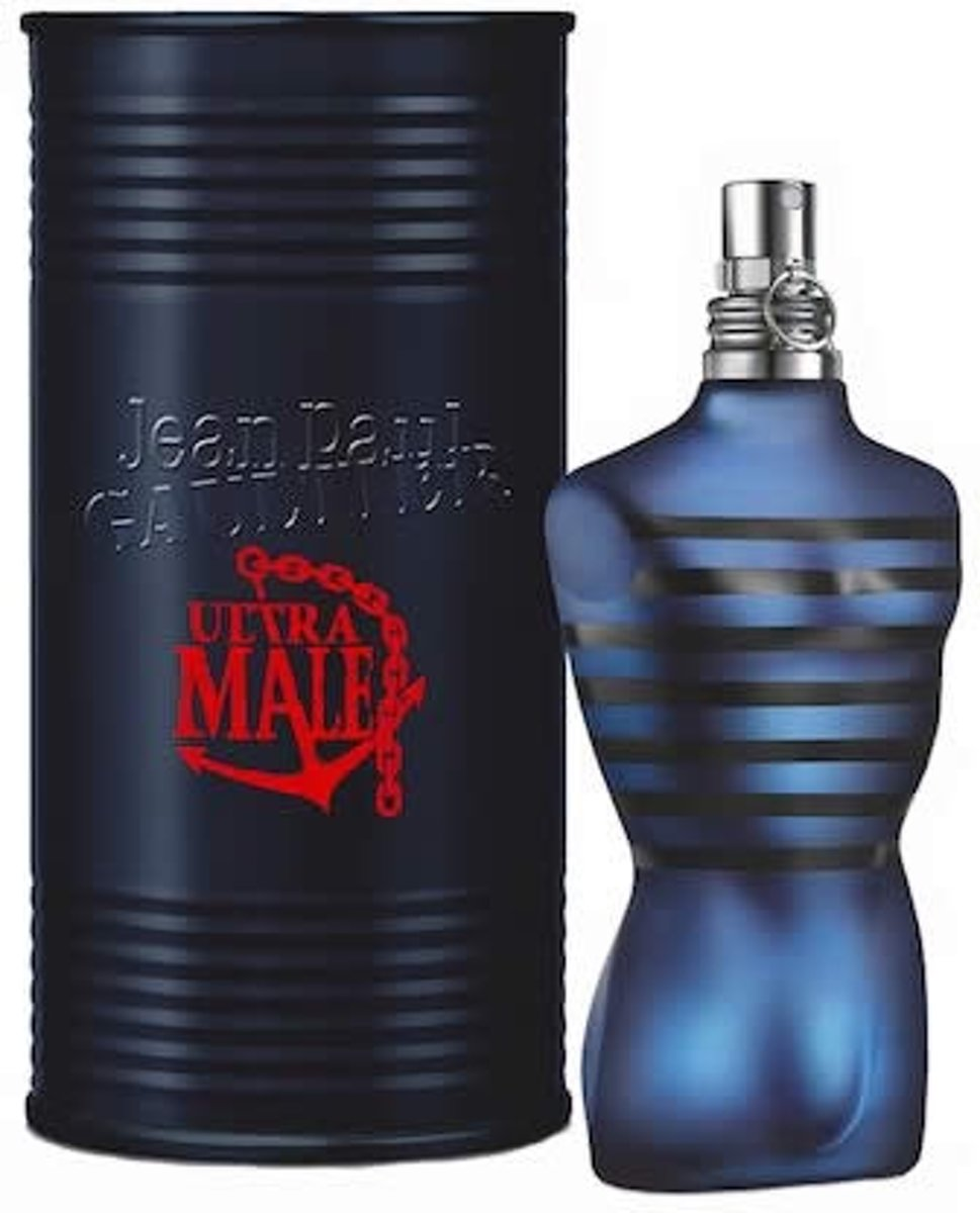 MULTIBUNDEL 3 stuks Jean Paul Gaultier Ultra Male Eau De Toilette Spray 40ml