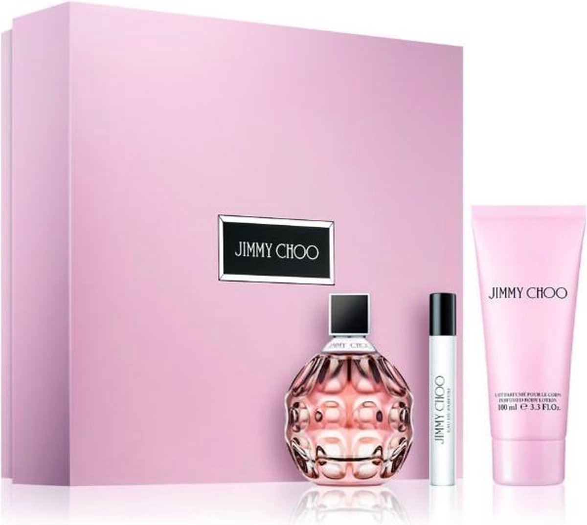 Jimmy Choo Eau De Parfum Spray 100ml Set 3 Pieces 2020