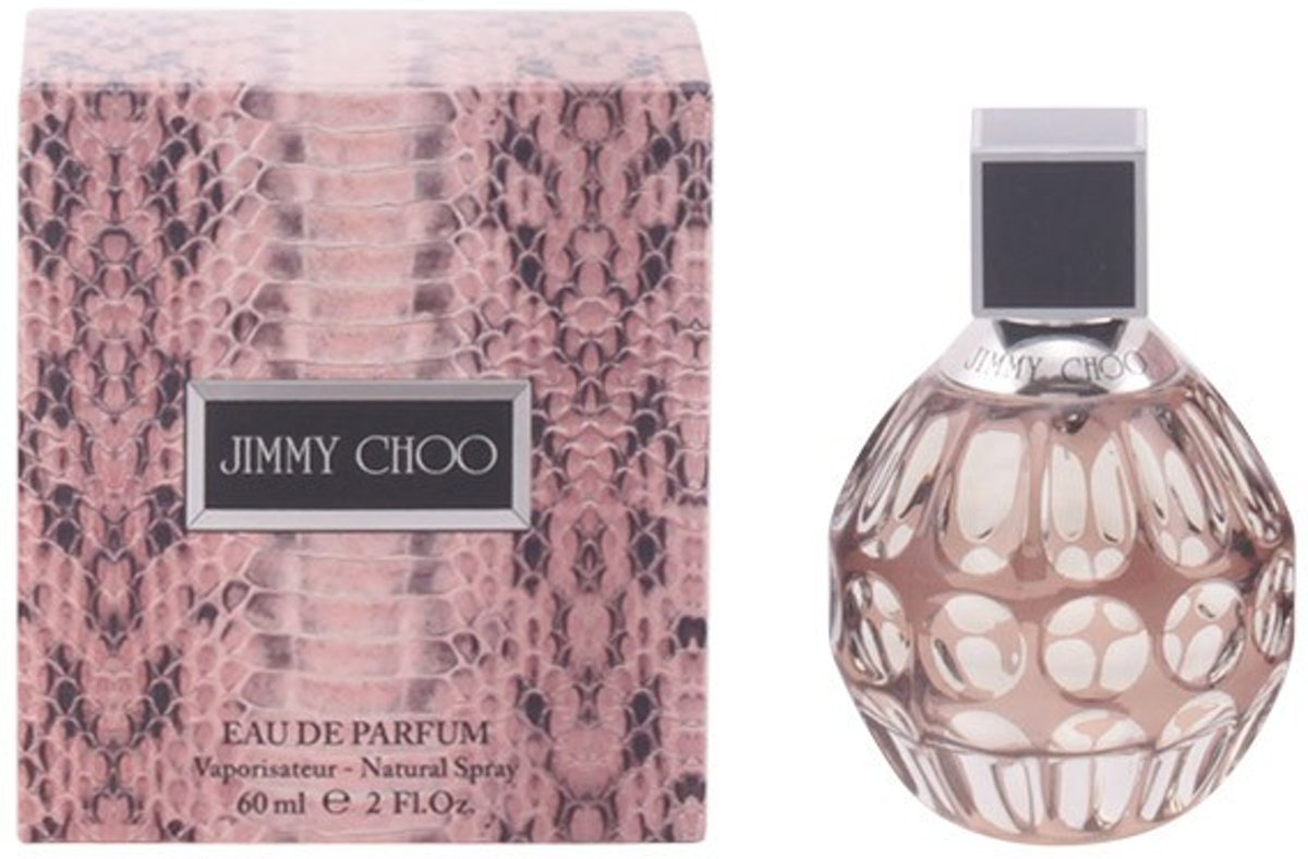 MULTI BUNDEL 2 stuks JIMMY CHOO Eau de Perfume Spray 60 ml