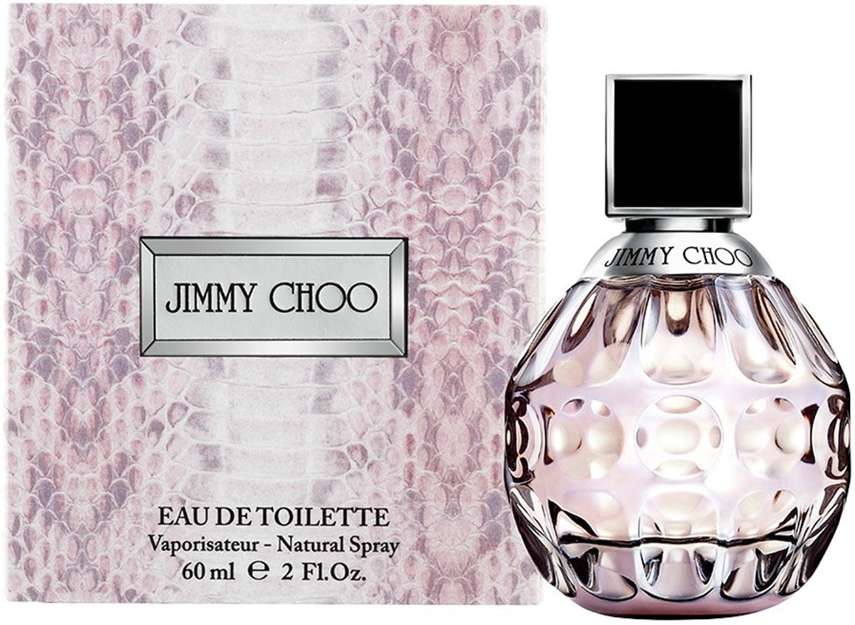 MULTI BUNDEL 2 stuks JIMMY CHOO Eau de Toilette Spray 60 ml