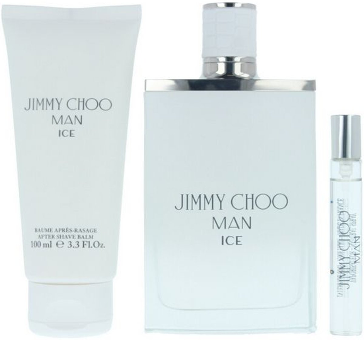 Parfumset voor Heren Ice Jimmy Choo (3 pcs)