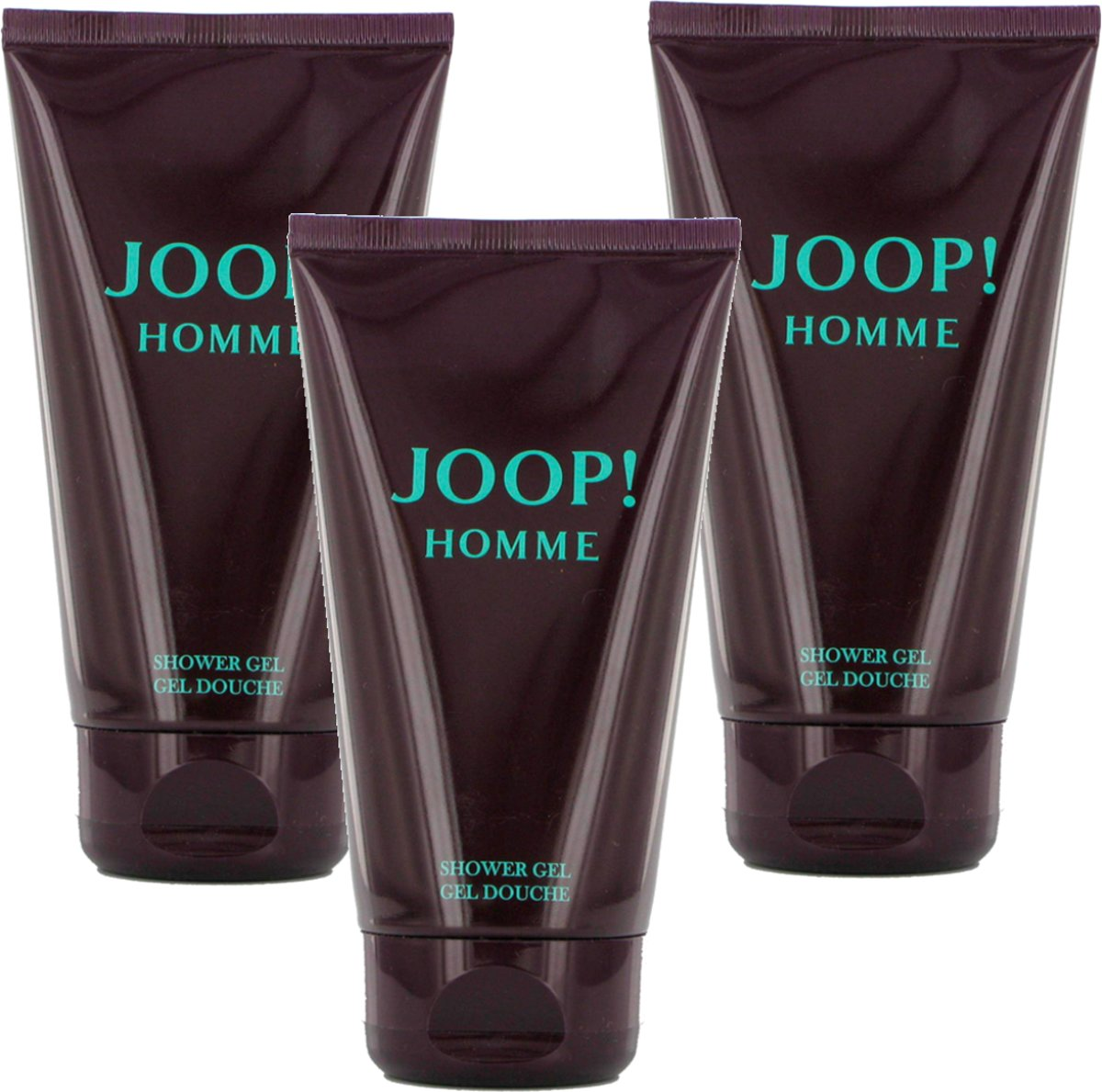 3x Joop! Homme shower gel 150 ml