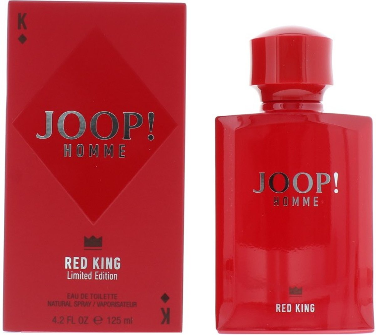Joop! Homme Red King - 125ml - Eau de toilette