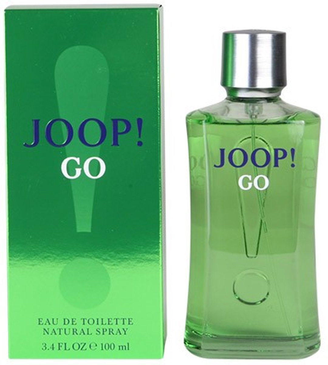 MULTI BUNDEL 2 stuks JOOP GO eau de toilette spray 100 ml