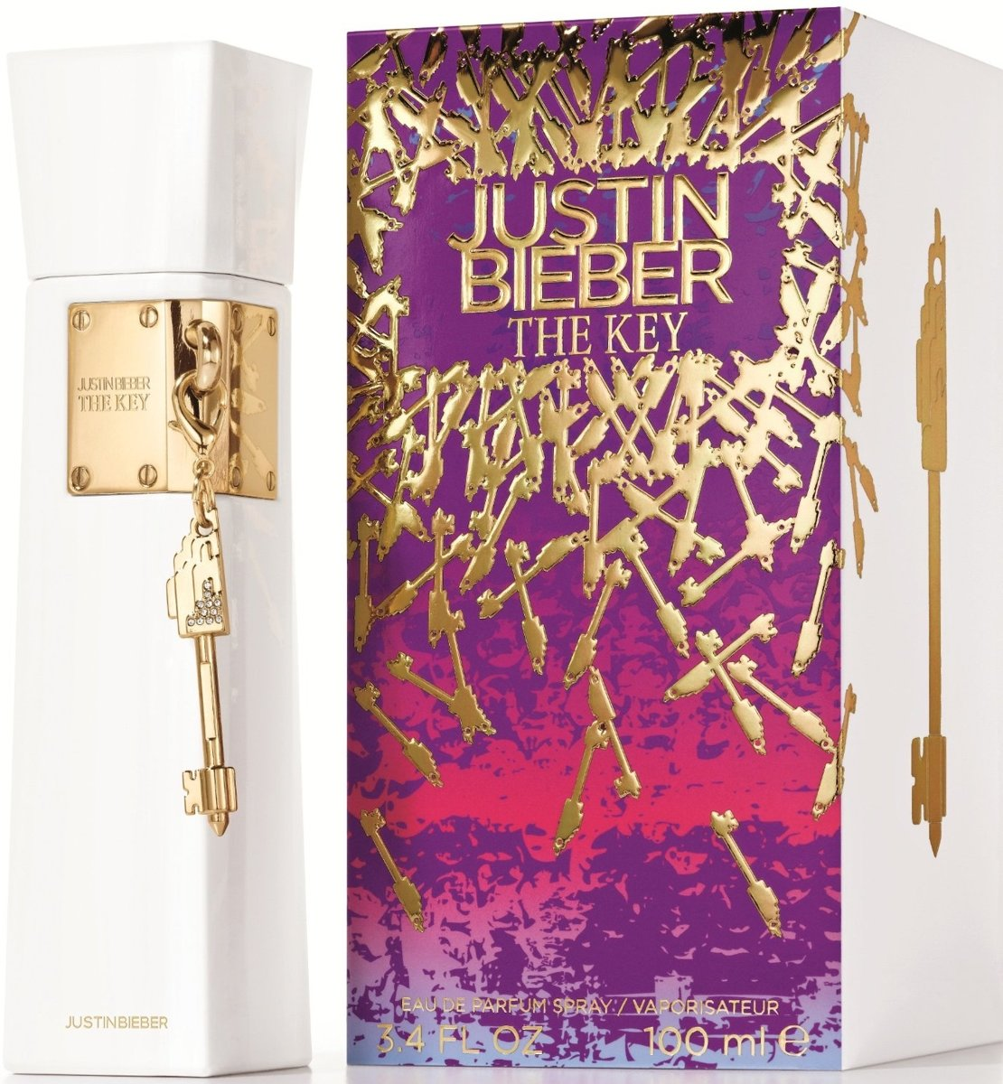 Justin Bieber The Key - eau de parfum - 100 ml
