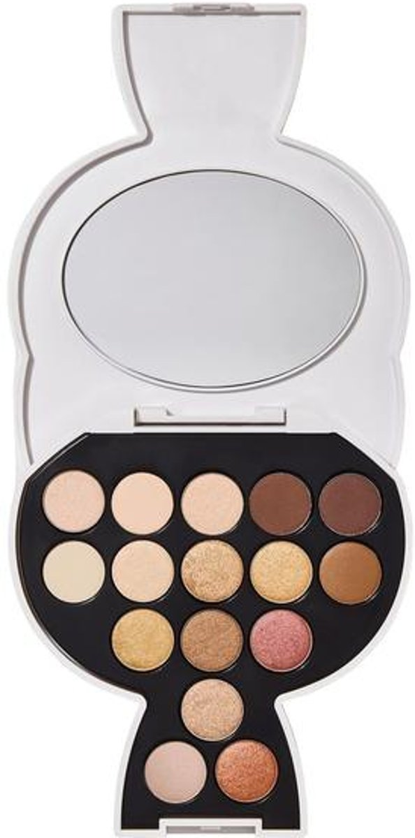 Karl Lagerfeld + Modelco - Choupette Collectable Eyeshadow Palette - Warm/Nude