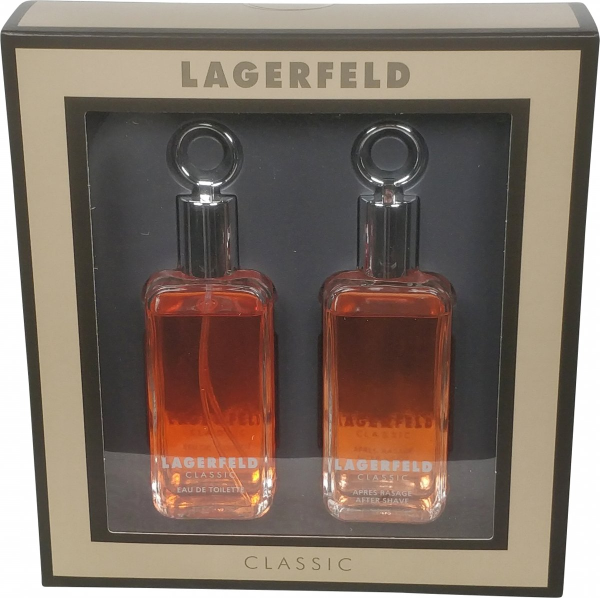 Lagerfeld - Eau de toilette - Classic 60ml eau de toilette + 60ml aftershave - Gifts ml