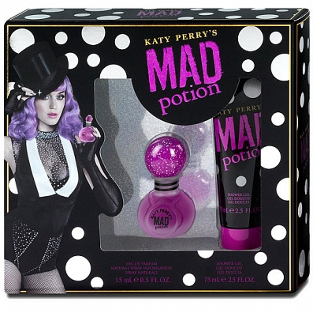 Katy Perry Mad Potion Eau De Parfum 15ml + Showergel 75ml