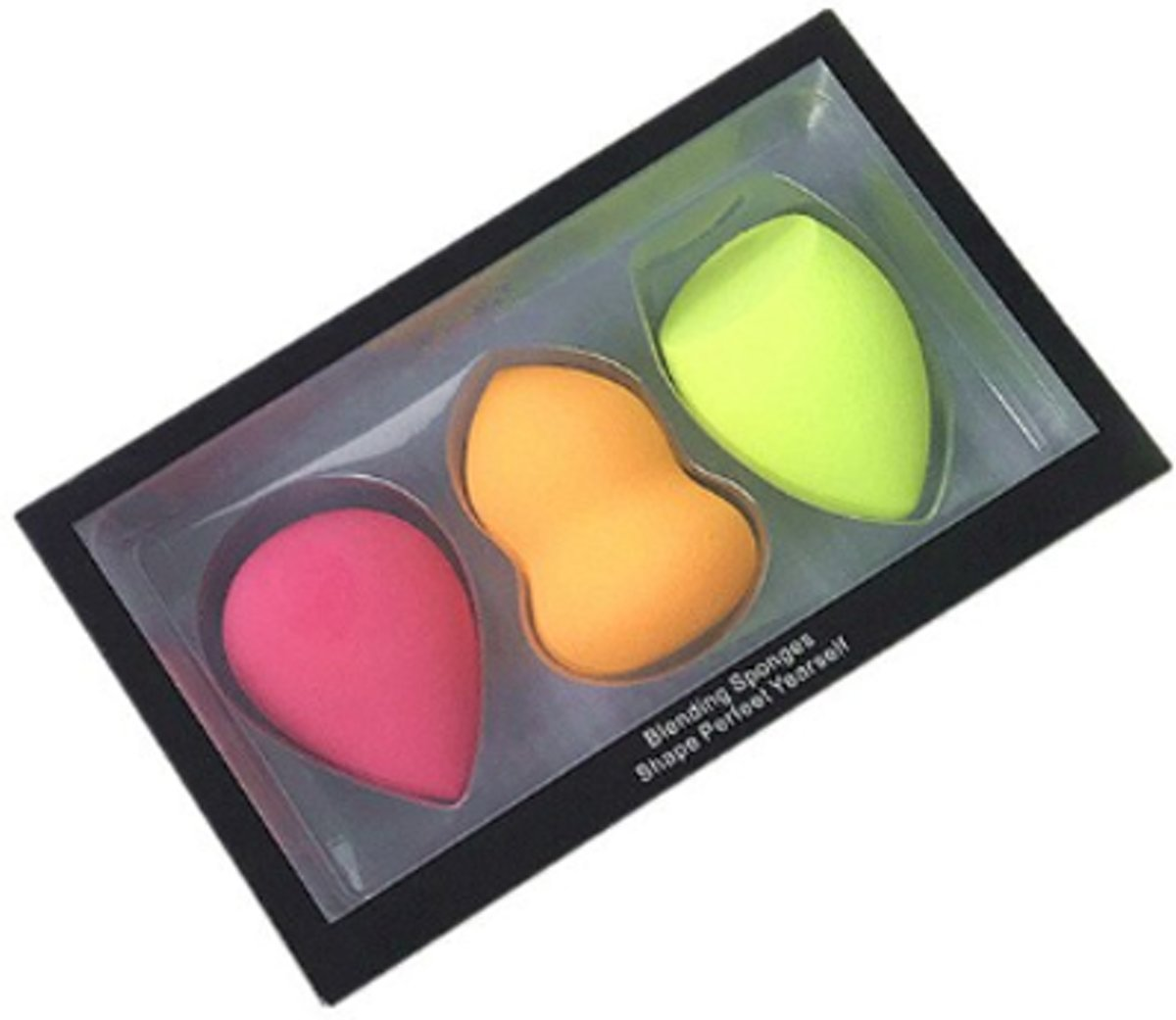 3 stuks | Beauty Blender Make-Up Sponzen Druppels | Miracle Complexion Sponges