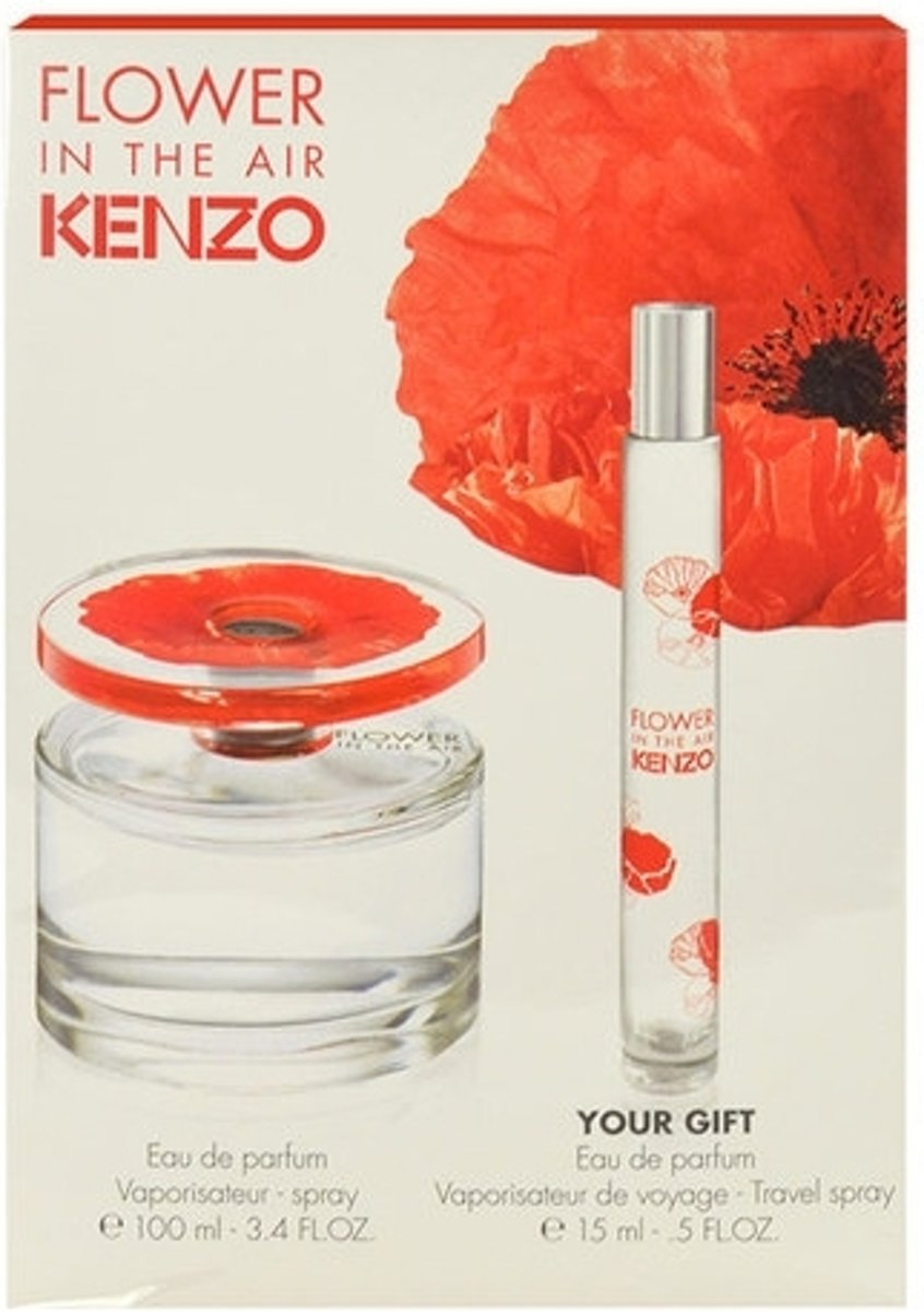 Kenzo - Eau de parfum - Flower in the air 100ml eau de parfum + 15ml eau de parfum - Gifts ml