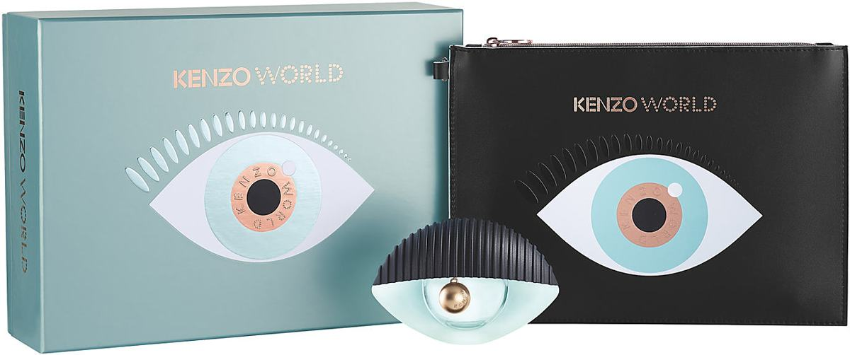 Kenzo World 50ml + Fashion Pouch set Set