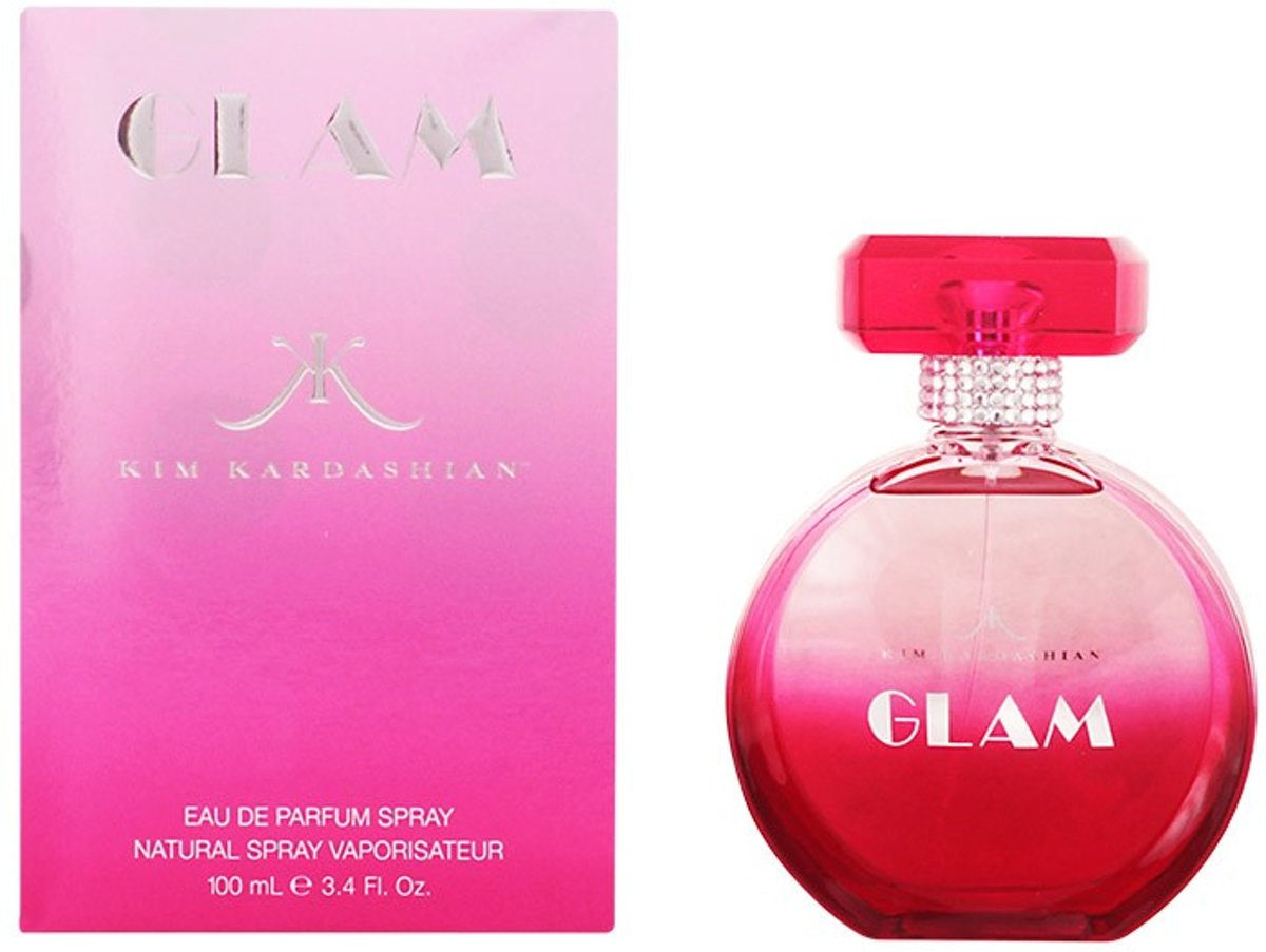 MULTI BUNDEL 2 stuks GLAM Eau de Perfume Spray 100 ml