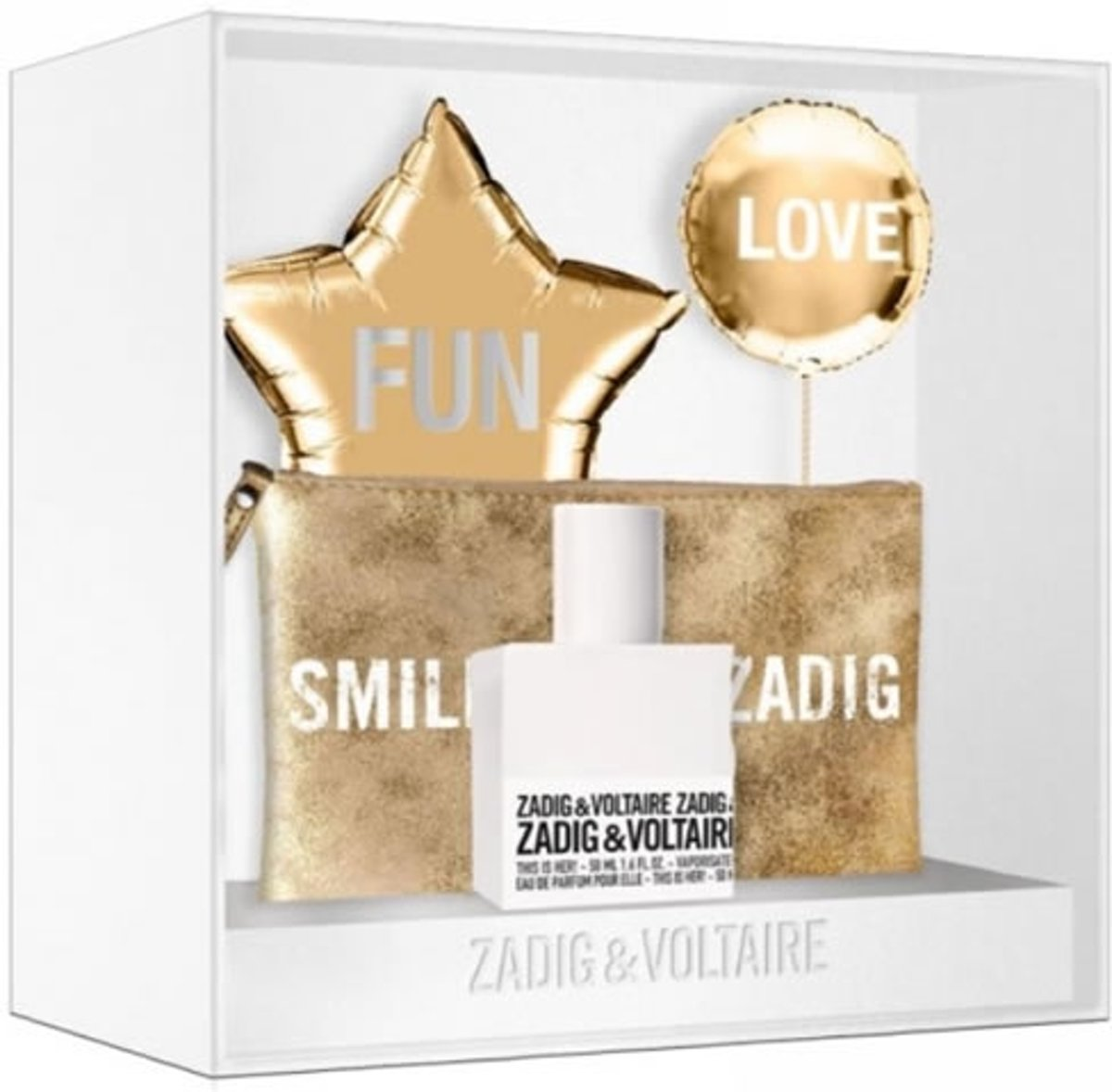 Zadig & Voltaire Zadig Et Voltaire This Is Her! Eau De Perfume Spray 50ml Set 2 Pieces 2018