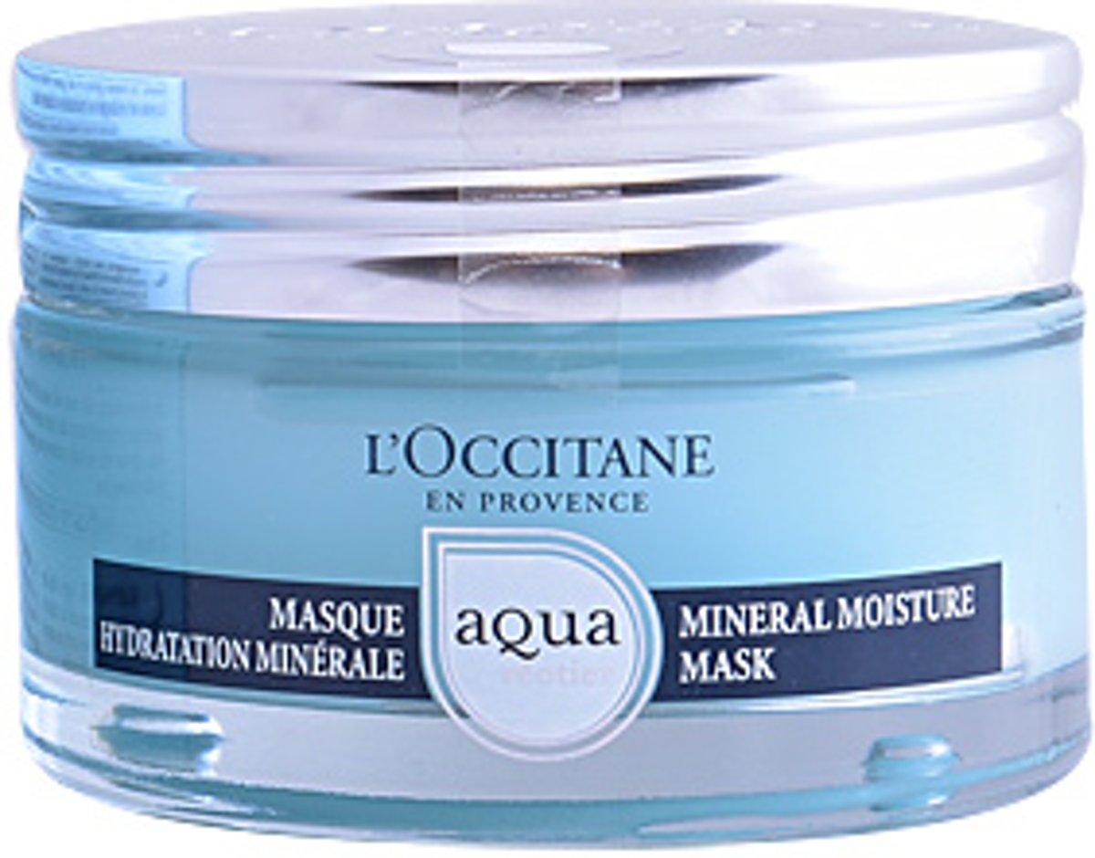 l occitane aqua r otier masque hydratation min rale 75 ml 3253581562680 prijs. Black Bedroom Furniture Sets. Home Design Ideas