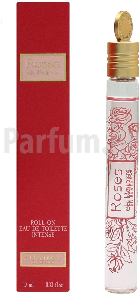 loccitane roses et reines eau de toilette roll on 10 ml 3253581288566 prijs. Black Bedroom Furniture Sets. Home Design Ideas