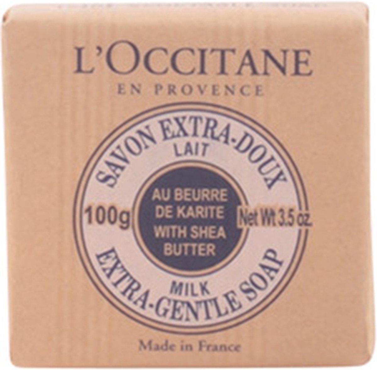 l occitane karite savon lait 100 gr 3253581000090 prijs. Black Bedroom Furniture Sets. Home Design Ideas