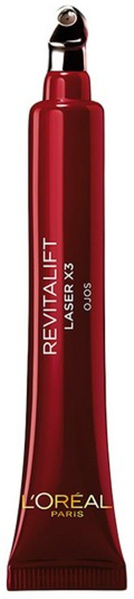 Anti-Veroudering Crème voor Ooggebied Revitalift Laser LOreal Make Up (15 ml)
