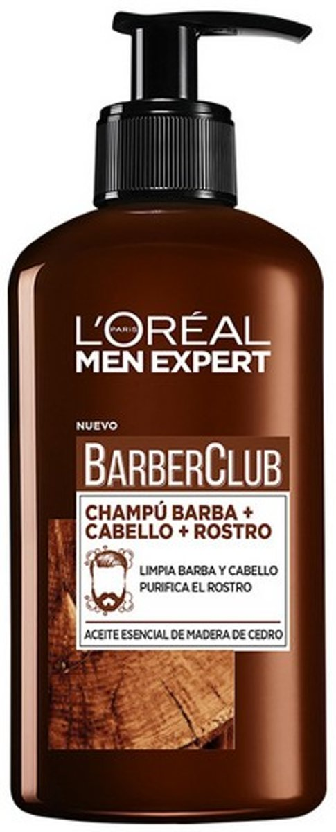 Baard Shampoo Men Expert Barber Club LOreal Make Up (200 ml)