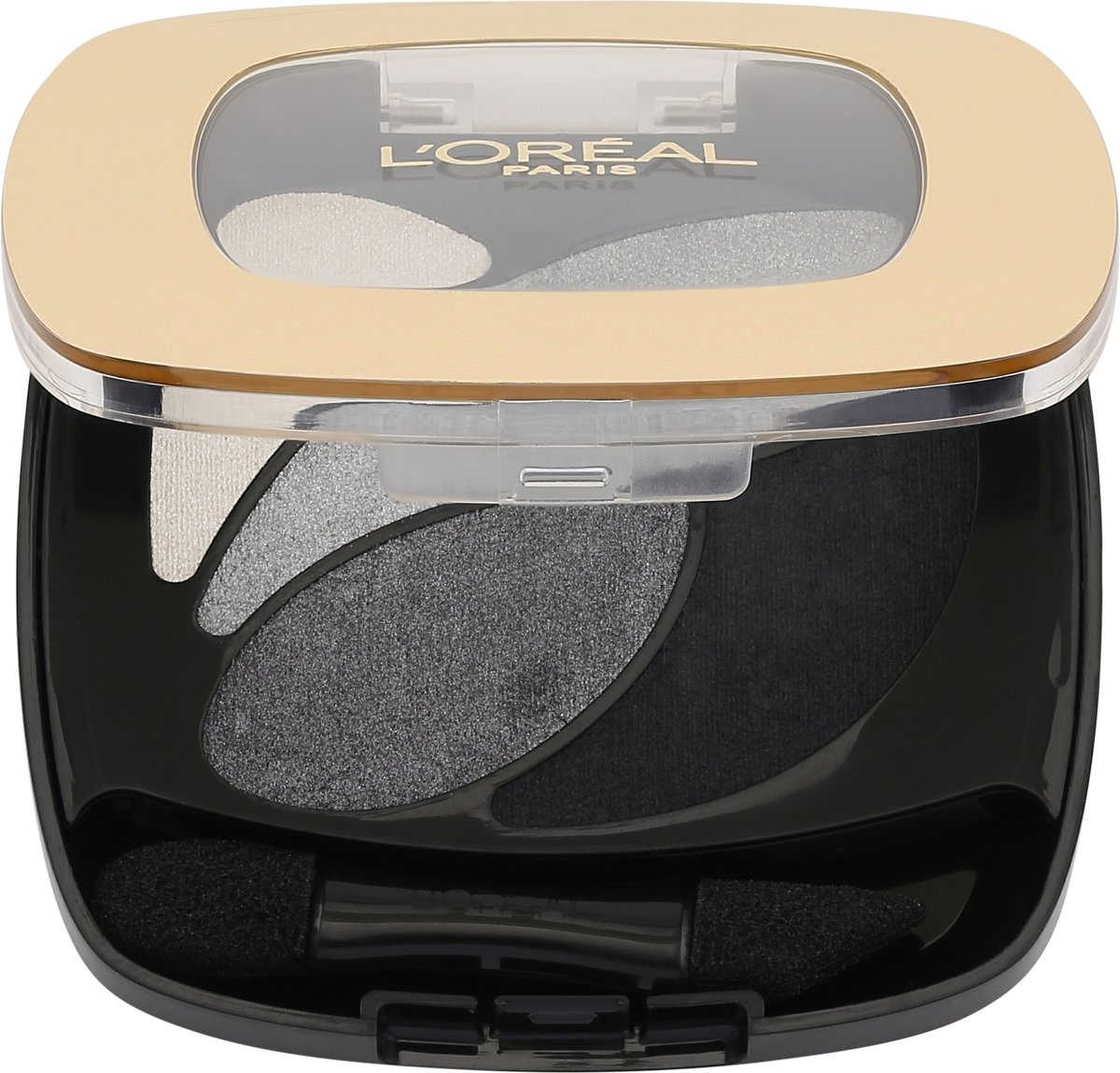 L'Oréal Paris Color Riche Les Ombres Quad - E5 Velour Noir - Oogschaduw