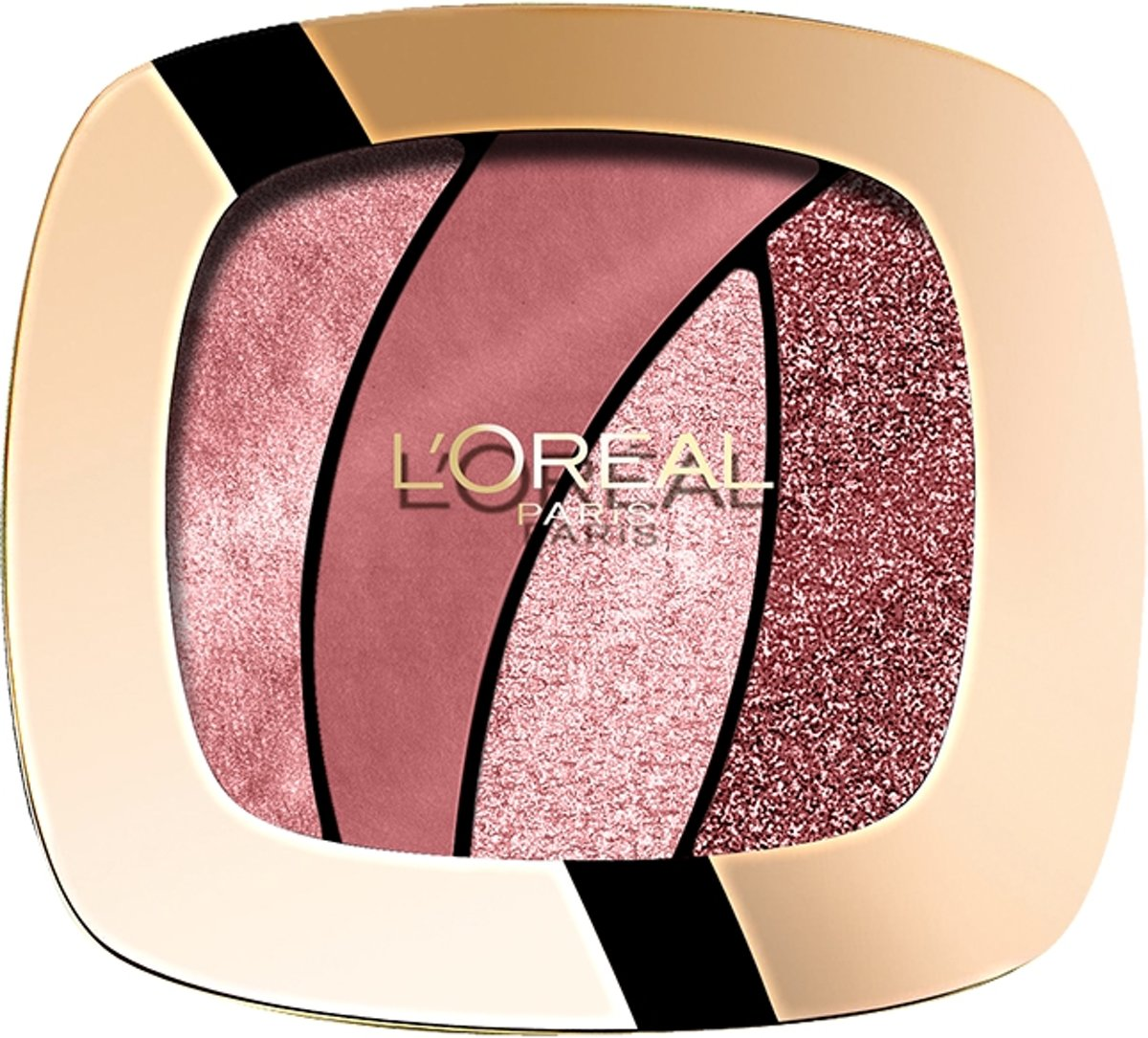 L'Oréal Paris Color Riche Les Ombres Quad Oogschaduw - S10 Seductive Rose