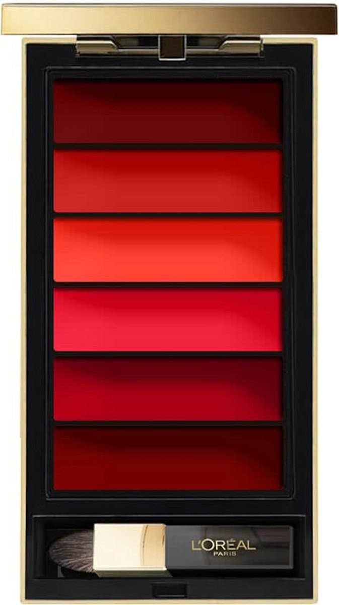 L'Oréal Paris Color Riche Lip Palette - 02 Rouge
