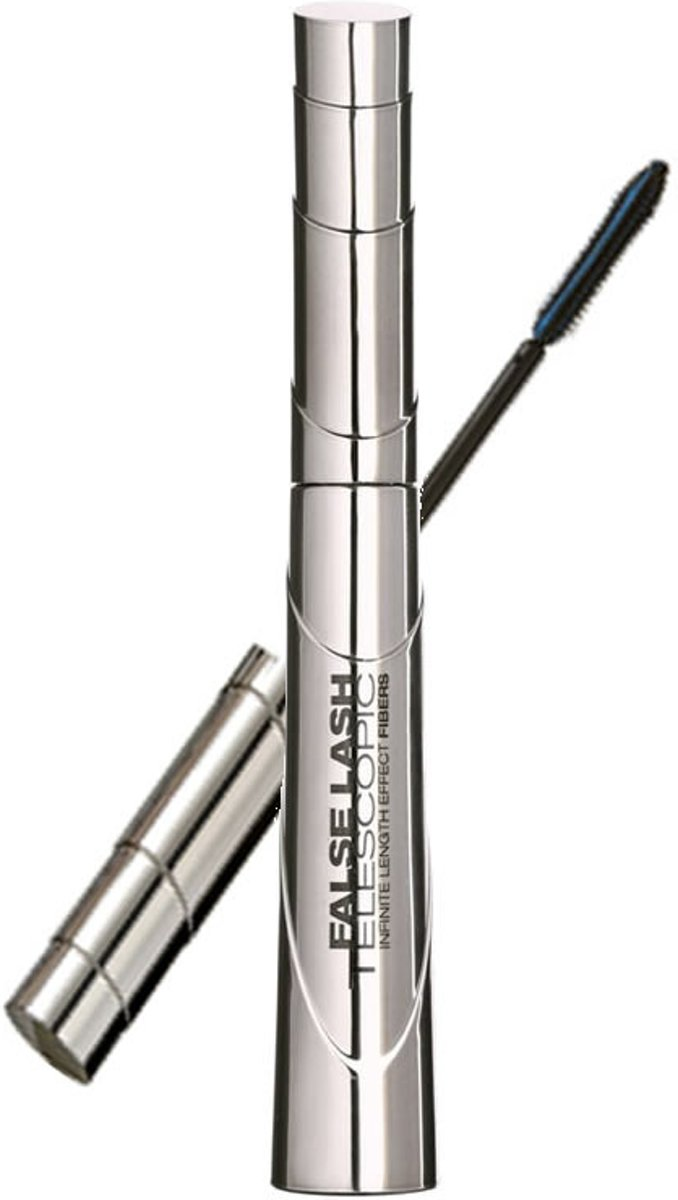 L'Oréal Paris False Lash Telescopic Mascara - Zwart