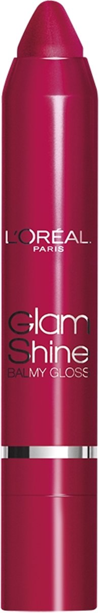 L'Oréal Paris Glam Shine Balmy Gloss - 909 Mad for Pomegranate - Lipgloss