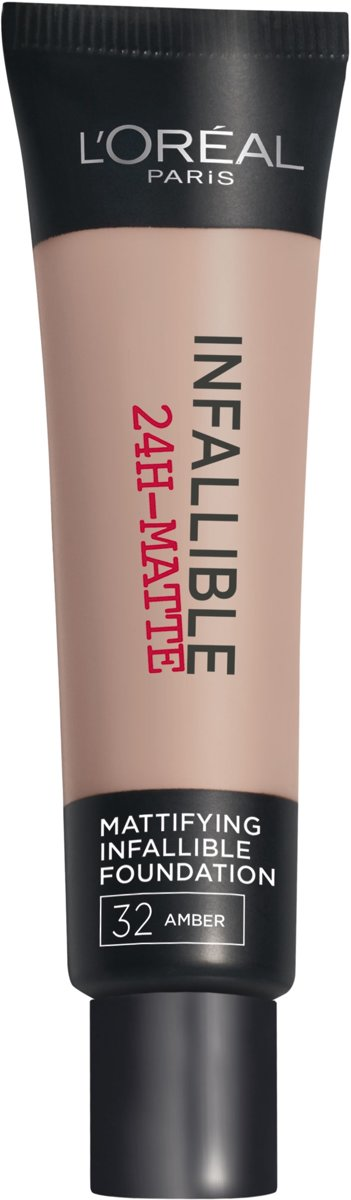 L'Oréal Paris Infallible Matte Foundation - 32 Amber