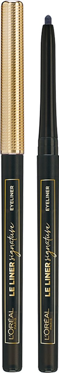L'Oréal Paris Le Liner Signature Oogpotlood - 01 Noir Cashmer – Zwart - Waterproof
